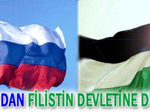 Rusya&#39dan Filistin Devletine Destek