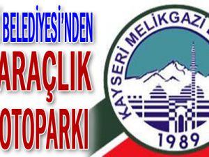 MELİKGAZİ BELEDİYESİ&#39NDEN 485 ARAÇLIK SEMT OTOPARKI