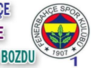 Fenerbahçe, Kadıköy&#39de sessizliği bozdu
