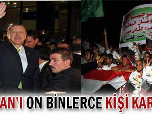 Erdoğan&#39ı On Binlerce Kişi Karşıladı-VİDEO-