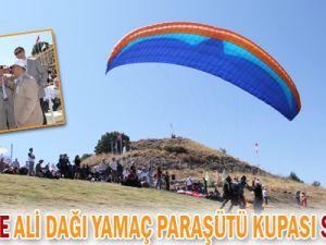 KAYSERİ&#39DE ALİ DAĞI YAMAÇ PARAŞÜTÜ KUPASI BAŞLADI