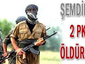 Şemdinli&#39de 2 PKK&#39lı Öldürüldü!