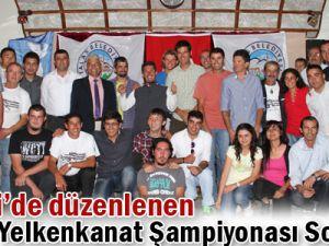 Kayseri&#39de düzenlenen Avrupa Yelkenkanat Şampiyonası sona erdi