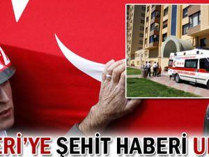 Kayseri&#39ye Şehit Polisin Haberi Ulaştı!