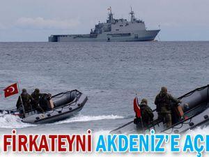 3 Türk firkateyni Akdeniz&#39e açılıyor