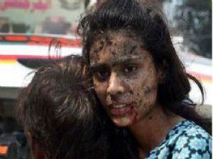 Pakistan'da büyük katliam 75 kişi öldü!