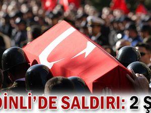 Şemdinli&#39de PKK Saldırısı: 2 Şehit!