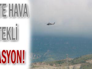 Siirt&#39te PKK&#39ya Operasyon