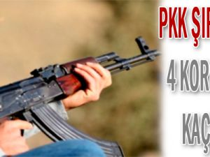 PKK 4 Korucuyu Kaçırdı!