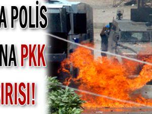 Van&#39da Polis Aracına PKK Saldırısı!