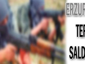 Erzurum&#39da terör saldırısı!