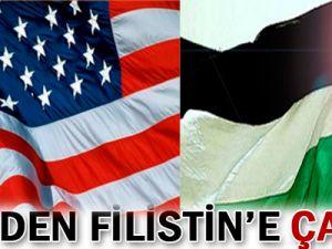 ABD&#39den Filistin&#39e çağrı!
