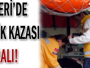 KAYSERİ&#39DE TRAFİK KAZASI: 4 YARALI