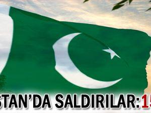 Pakistan&#39da saldırılar: 15 ölü