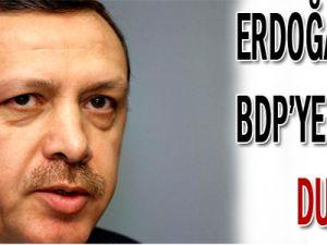 Başbakan&#39dan BDP&#39ye Soğuk Duş!