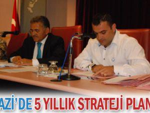 Melikgazi&#39de 5 yıllık strateji planı hazır