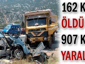 162 Kişi Öldü 907 Kişi Yaralandı!