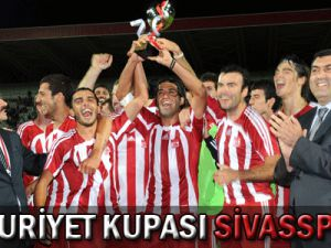 Cumhuriyet Kupası Sivasspor&#39un