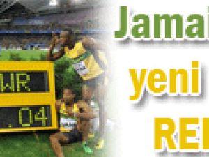 Jamaika&#39dan yeni dünya rekoru