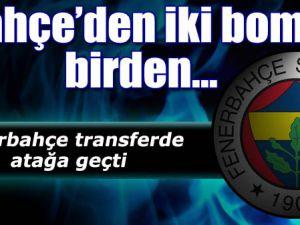 Fenerbahçe&#39den İki Bomba Birden