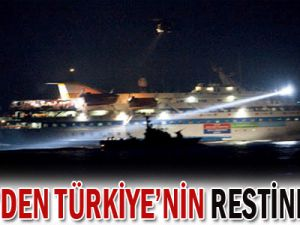 İsrail&#39den Türkiye&#39nin restine rest!