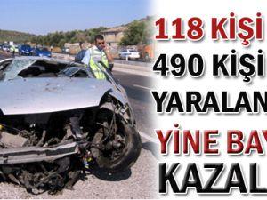 118 Kişi Öldü! 490 Kişi Yaralandı!