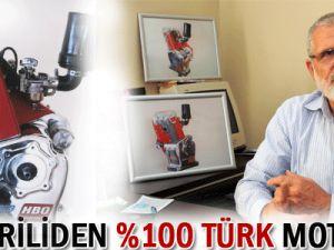 Kayseriliden Yüzde 100 Türk Motoru