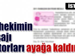 Hastane sitesinde Allah&#39a &#39Kainatın baştabibi&#39 denir mi?