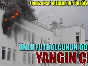 Ünlü Futbolcunun Odasında Yangın Çıktı