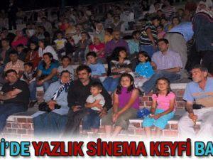 Kayseri&#39de Yazlık Sinema Keyfi Başlıyor