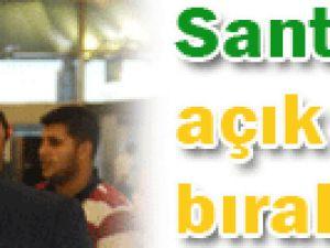 Santos Açık Kapı Bıraktı!