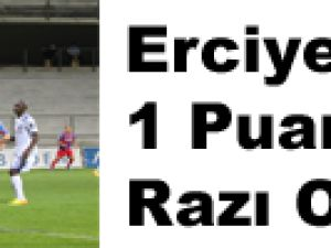 Erciyesspor 1 Puana Razı Oldu