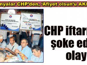 Kumanyalar CHP&#39den &#39Afiyet olsun&#39u AKP&#39den