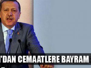 Erdoğan cemaatlere bayram sürprizi yaptı