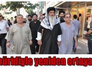 Aczimendi lideri Müslüm Gündüz 500 müridi ile ortaya çıktı