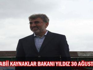 Enerji  ve Tabii Kaynaklar Bakanı Yıldız&#39dan 30 Ağustos Mesajı