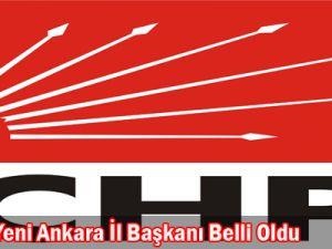 CHP&#39nin yeni Ankara il başkanı belli oldu