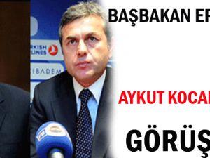 Başbakan Erdoğan Aykut Kocamanla Görüştü