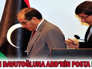 MHP&#39den Davudoğlu&#39na: ABD&#39nin  posta Beygiri