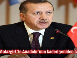 Erdoğan: &#39&#39Malazgirt&#39le Anadolu&#39nun kaderi yeniden tayin edildi&#39&#39