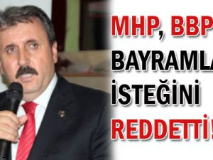 MHP, BBP&#39nin bayramlaşma isteğini reddetti