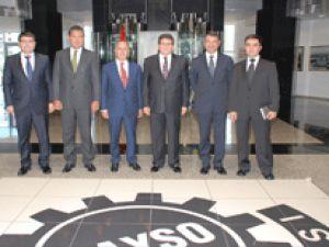 TEB Genel Müdürü Civil'den KAYSO'ya Ziyaret