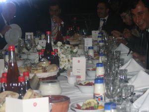 5. Mevsim Yönetim Kurulu Başkanı Sinan Burhan Kayseri Heyetine Akşam Yemeği Verdi