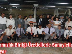 Kayseri&#39de damızlık birliği üreticilerle sanayicileri buluşturuyor&#8207