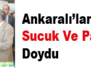 Ankaralı'lar Sucuk Ve Pastırmaya Doydu