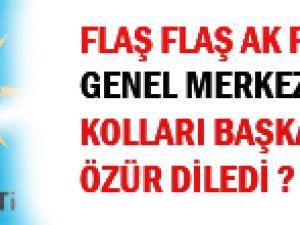 FLAŞ! FLAŞ! AK Parti Gençlik Kolları: Onların ekmeğe ihtiyacı var, kaşara değil!