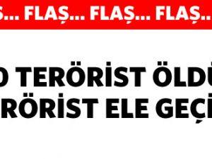 TSK: Kandil&#39de 100 terörist öldürüldü