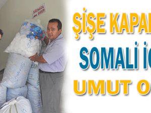 Şişe Kapakları Somali İçin Umut Oldu