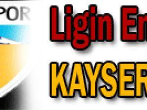Lig'in en genç takımı Kayserispor