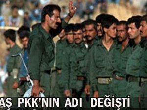 Flaş! Flaş! PKK&#39nın Adı Değişti!